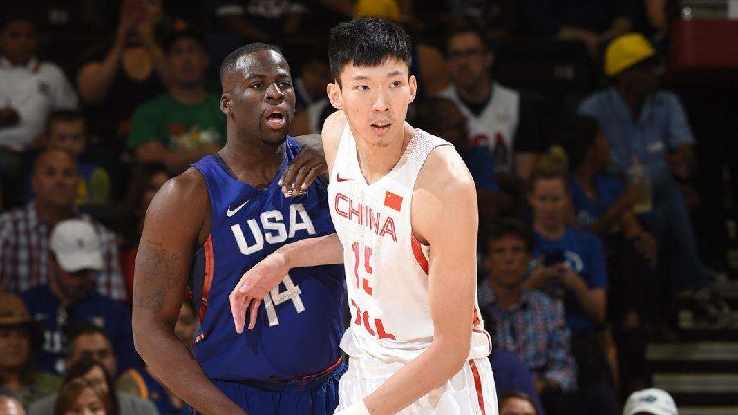 adam silver puts spotlight on chinese diversity in nba 2017 images