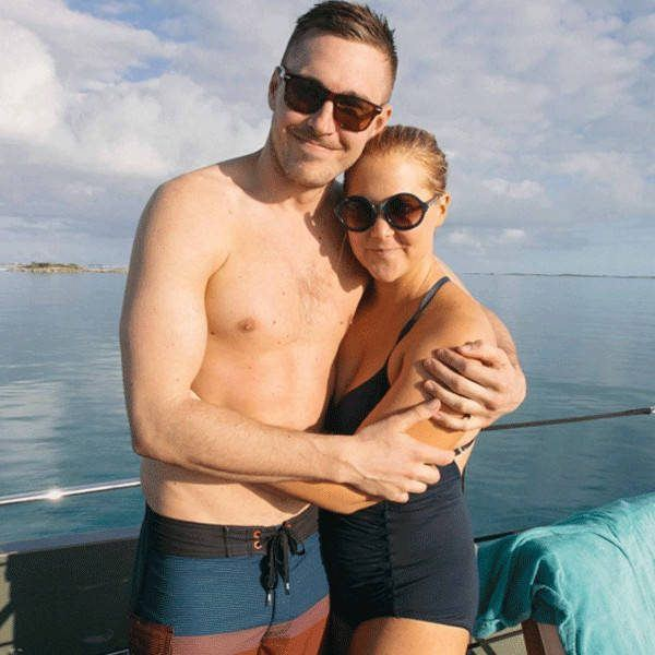 amy schumer jokes on ben hanisch relationship