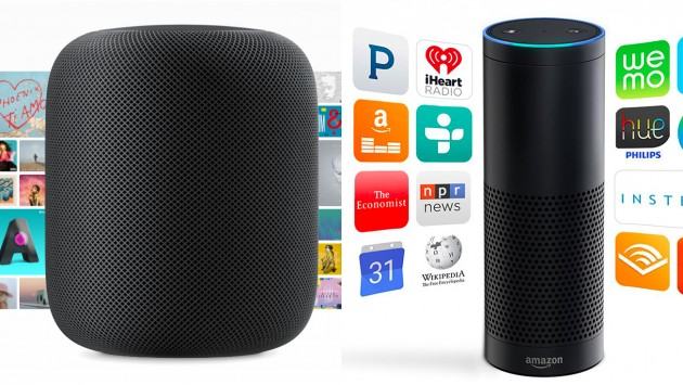 apple homepod taking on amazon echo 2017