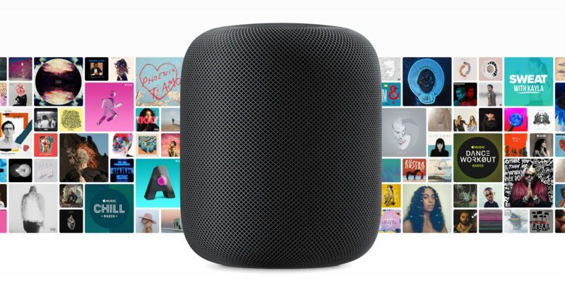 apple pushes into amazon and google territory with homepod 2017 images