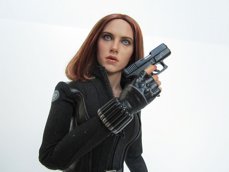 black widow avengers action figure