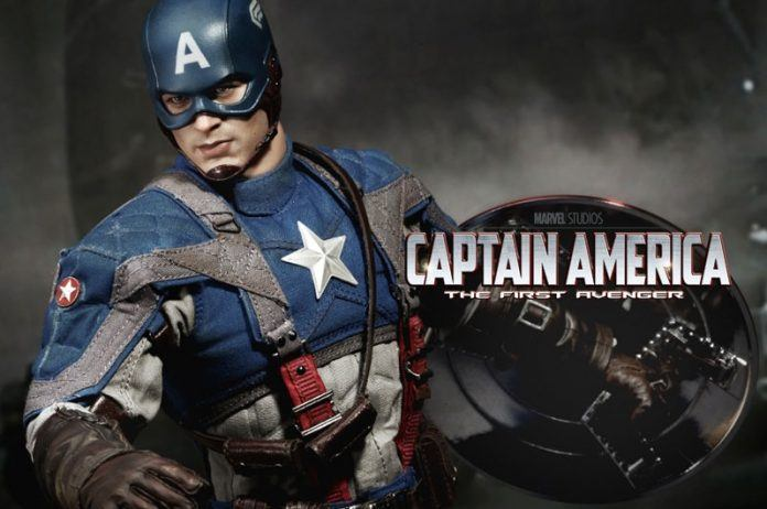 captain american marvel action figure