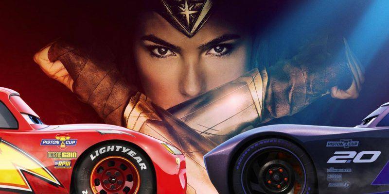 cars 3 knocks wonder woman to second box office spot