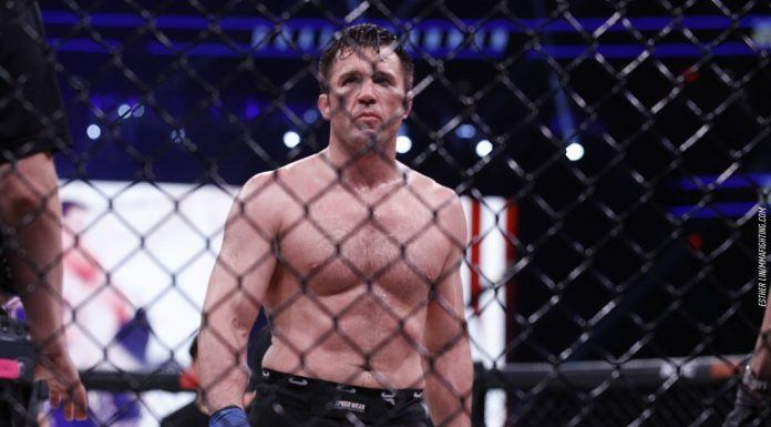 chael sonnen defeats wanderlei silva while hating on new york 2017 images
