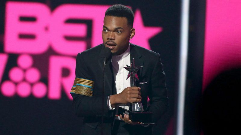 chance the rapper honored at bet awards plus winners 2017 images