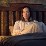 courtney ford talks supernatural big bang theory and august creek 2017 images