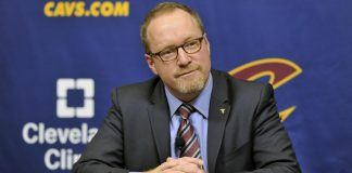 david griffin ends three year run as cleveland cavaliers gm 2017 images