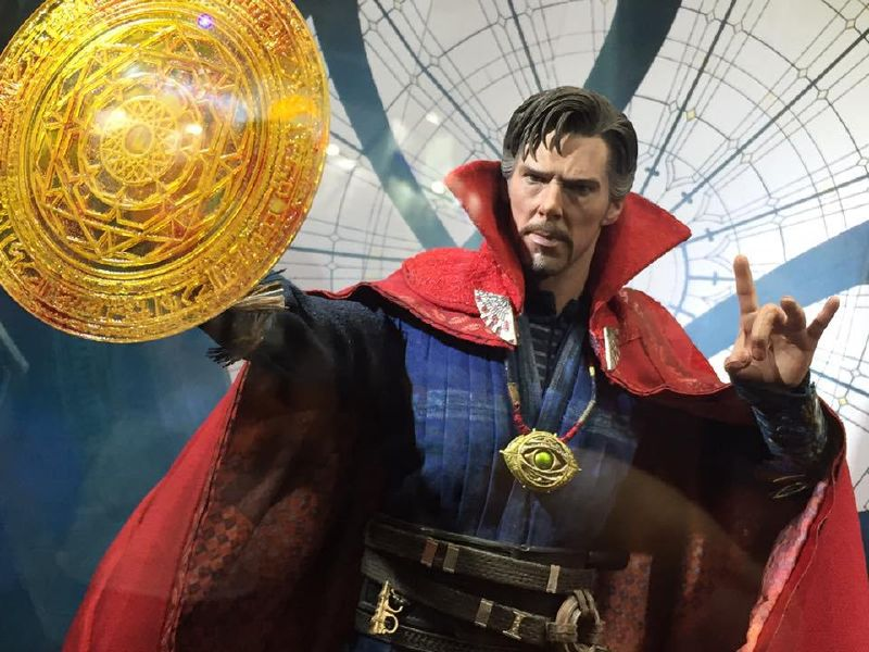 doctor strange film version action figure