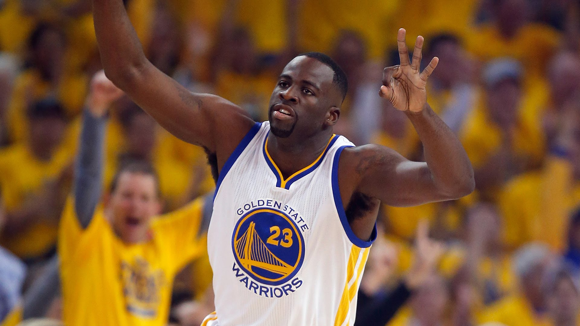 warriors draymond green not backing down on cleveland 2017 images