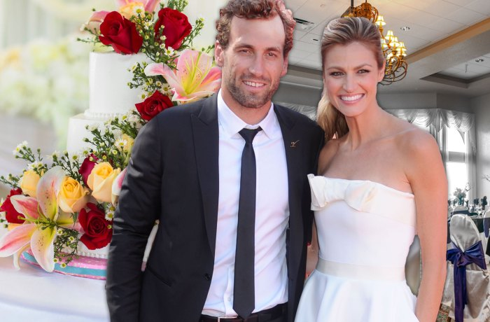 erin andrews marries jarret stoll in montana wedding dress