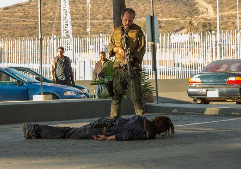 fear the walking dead finale nick with gun in face