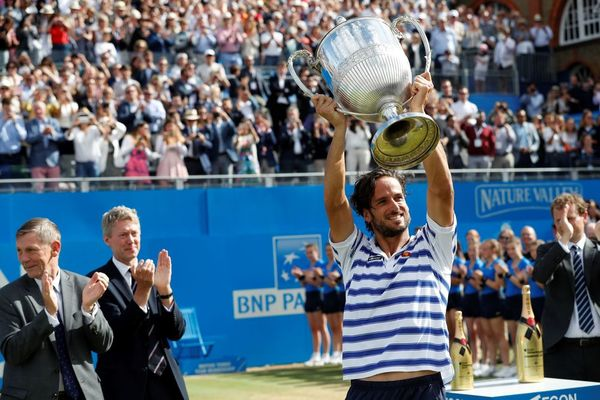 feliciano lopez wins title beating marin cilic 2017