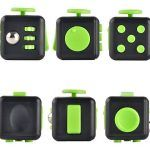 fidget cube green add stress