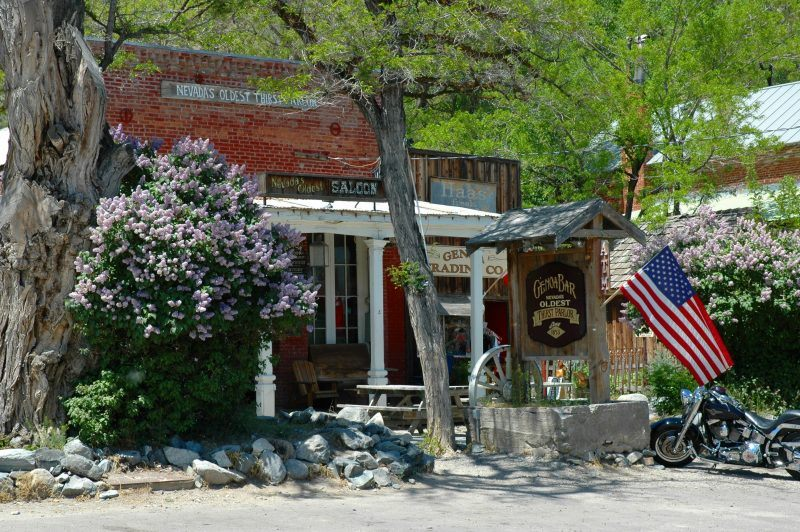 genoa carson valley nevada great sightseeing old bar