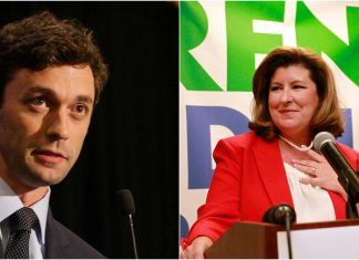 historic georgia race has jon ossoff vs karen handel under close scrutiny 2017 images