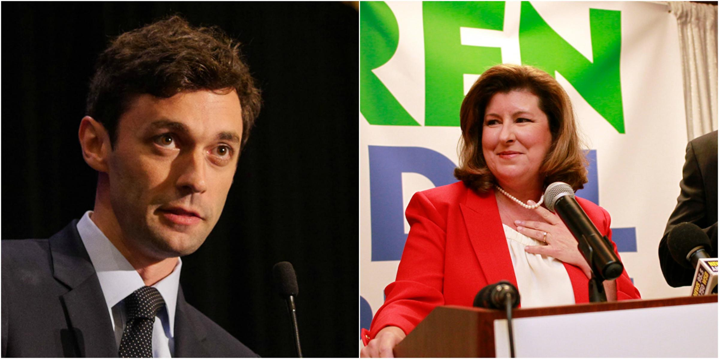 jon ossoff rouses up democratic crowds for georgia election