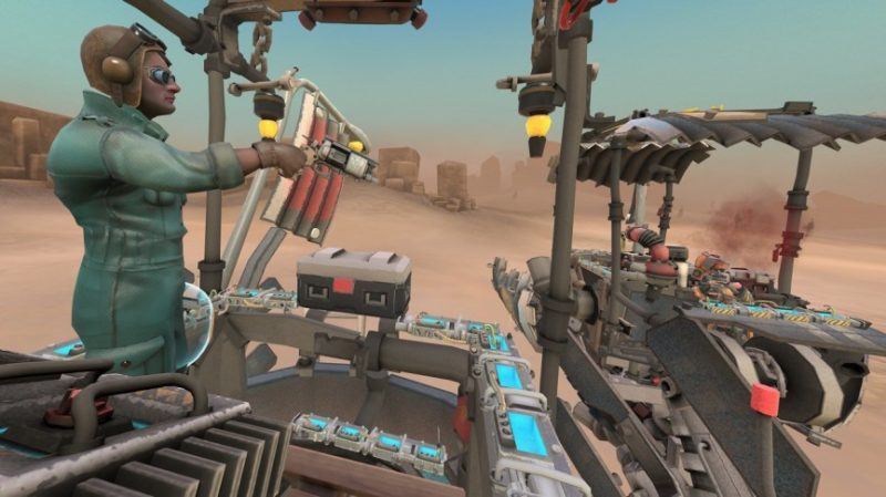 hover junkers htc vive top vr games 2017