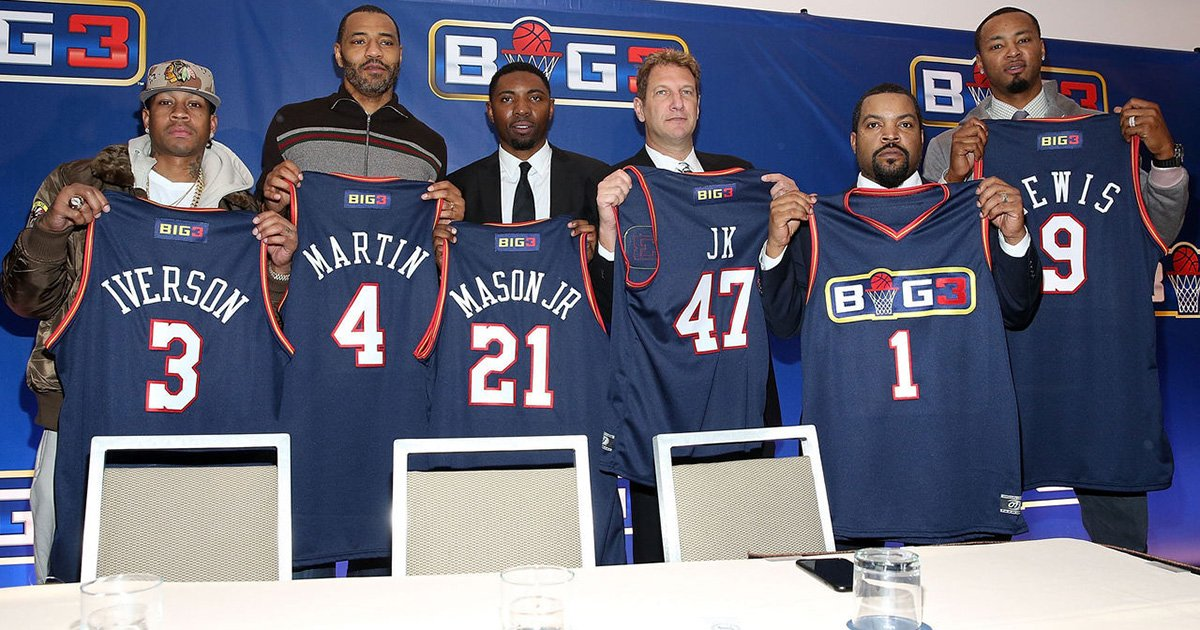 ice cube thinking big for his 3 on 3 league 2017 images