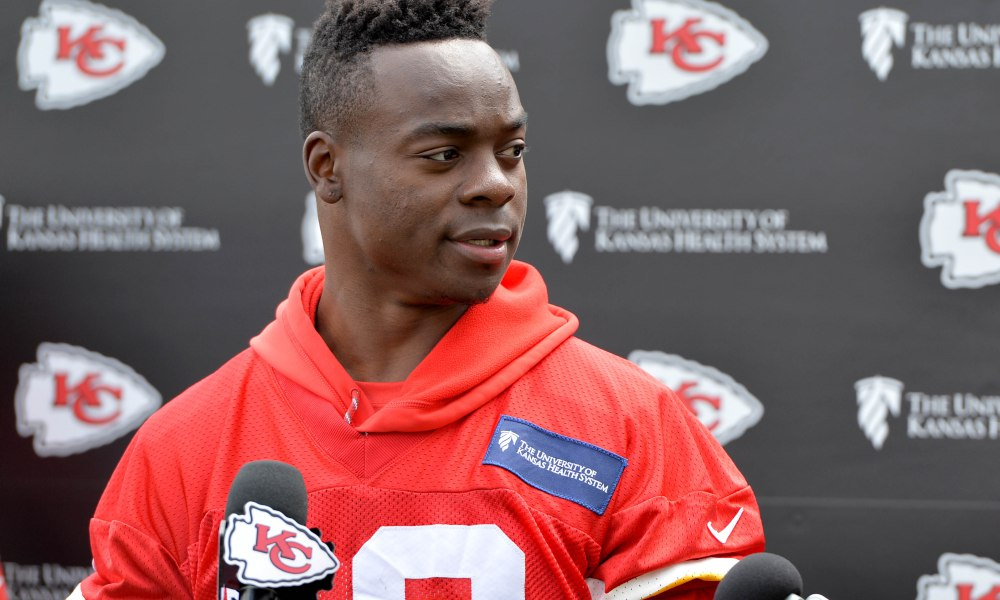 jermey maclin chiefs release stuns alex smith 2017 images