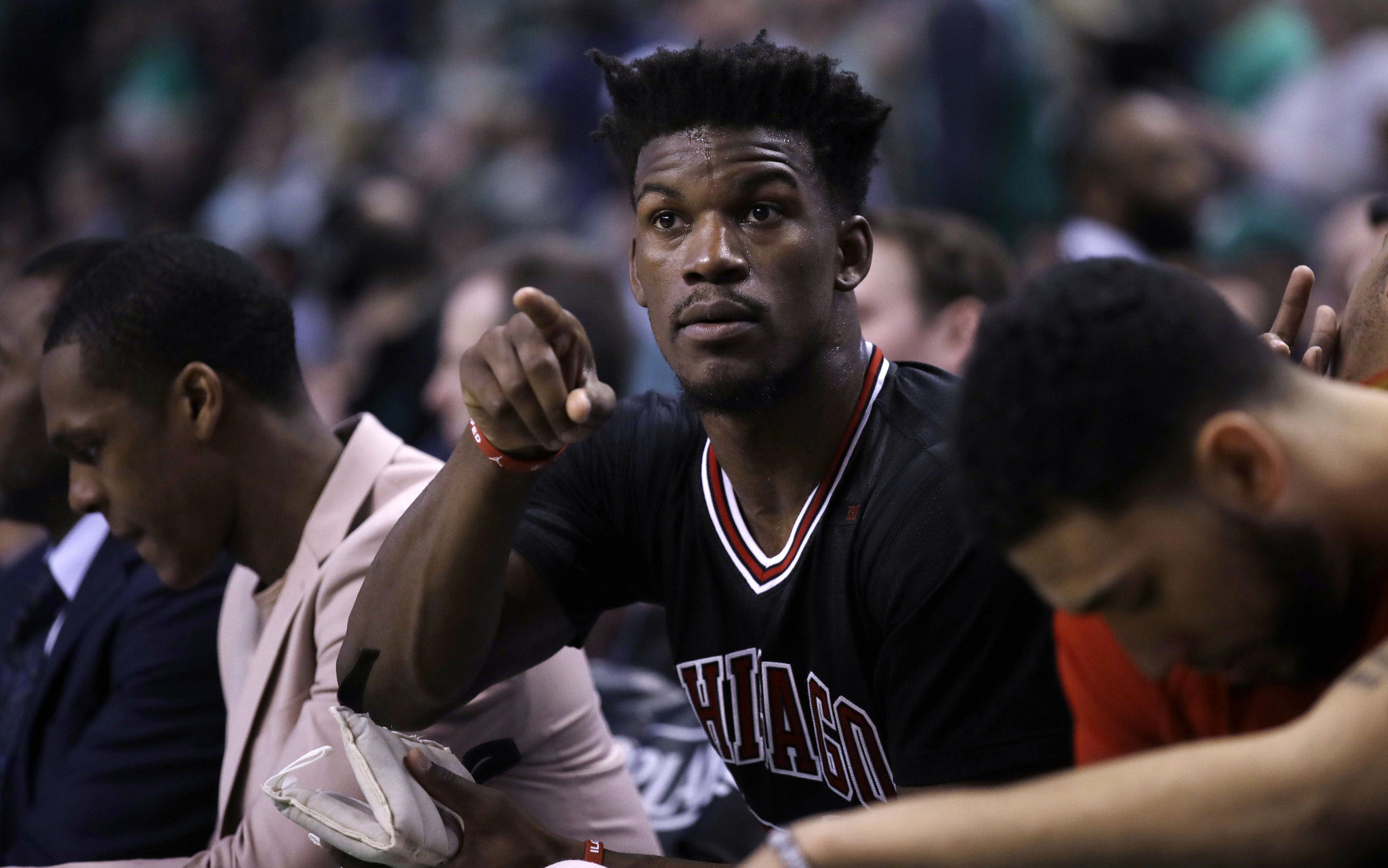 jimmy butler moves to timberwolves with sweet deal and knicks land ntilikina 2017 images
