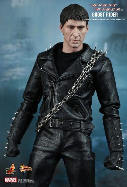 johnny blaze ghost rider hot toys movie tv tech geeks