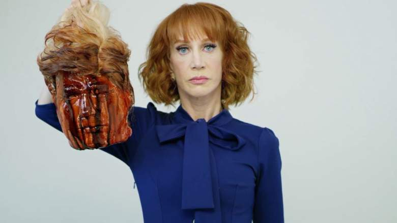 kathy griffin gives donald trump head