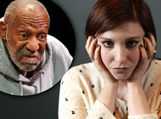 lena dunham has her say on bill cosby mistrial