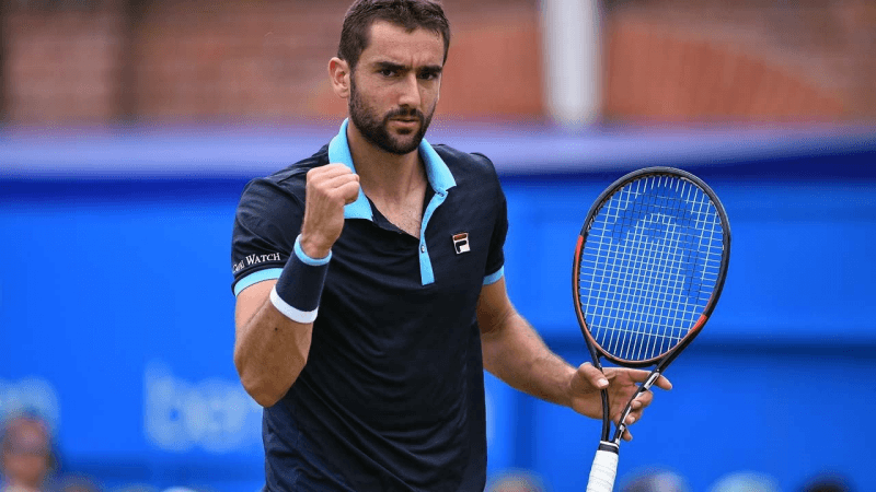 marin cilic considered wimbledon favorite plus kvitova wins title 2017 images