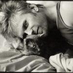 mark pellegrino with cat