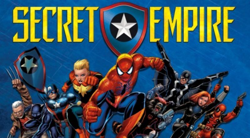marvel secret empire best graphic novel movie tv tech geeks