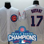 mlb chicago cubs world series with patches 2017