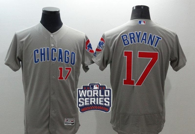 mlb jersey with world series patches