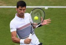 novak djokovic moves ahead at eastbourne, playing down wimbledon chances 2017 images