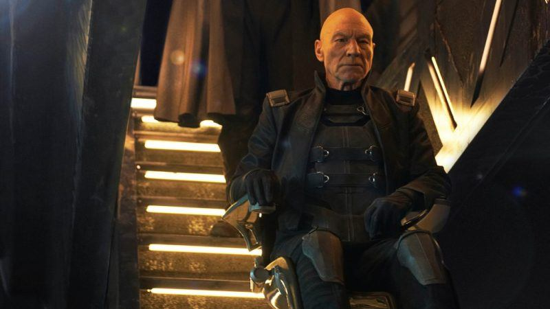 patrick stewart as professor x best one