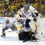 penguins 4-1 predators victory puts them two wins away from dynasty status 2017 images