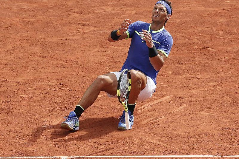 rafael nadal breaks record at french open 2017