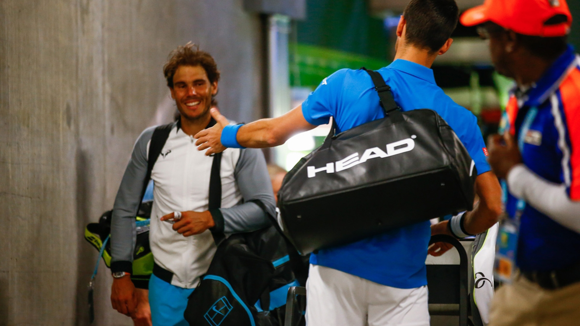 rafael nadal heads up atp rankings while novak djokvic drops down 2017 images