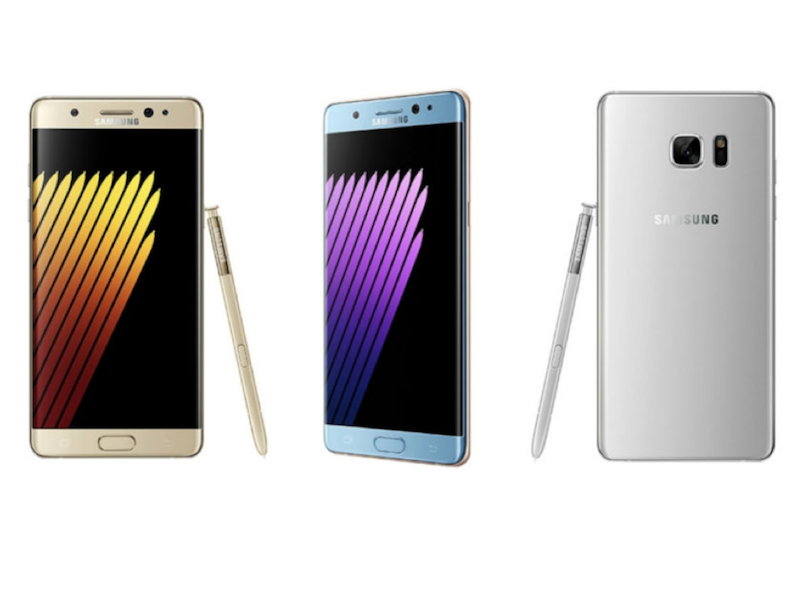 Samsung to relaunch the Galaxy Note 7 in South Korea