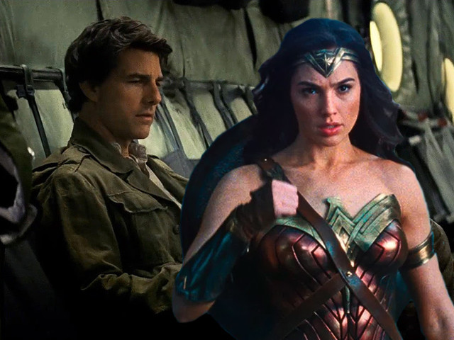 tom cruise mummy cant overcome wonder woman box office power