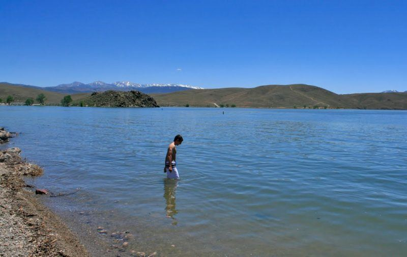 topaz lake swimming
