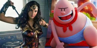 wonder woman rules box office with captain underpants in second spot 2017 images