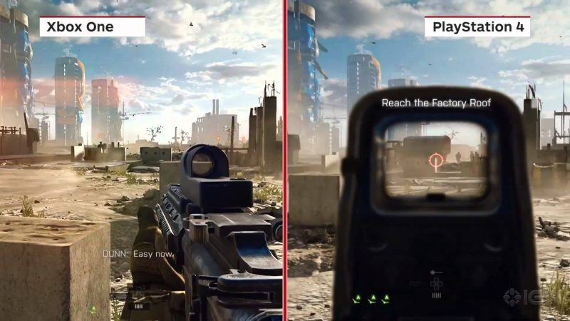 xbox one vs ps4 gaming images