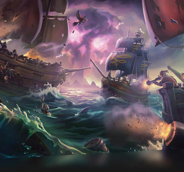 xbox one x 4k pirate games