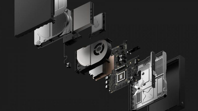 xbox one x tech images