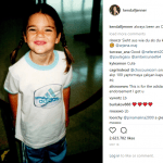 young kendall jenner with adidas shirt
