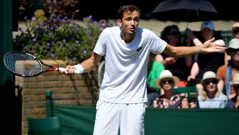 Daniil Medvedev toin coss at wimbledon