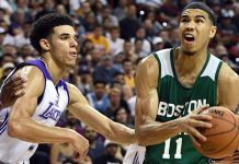 Jayson Tatum Shines at NBA Summer League Under Shadow of Lonzo Ball 2017 images