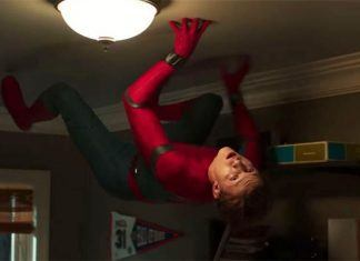 Spider-Man Drops from the Ceiling, Superhero Fatigue 2017 images