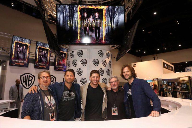 Supernatural Jared Padalecki Jensen Ackles Comic Con 2017 1100x733-005