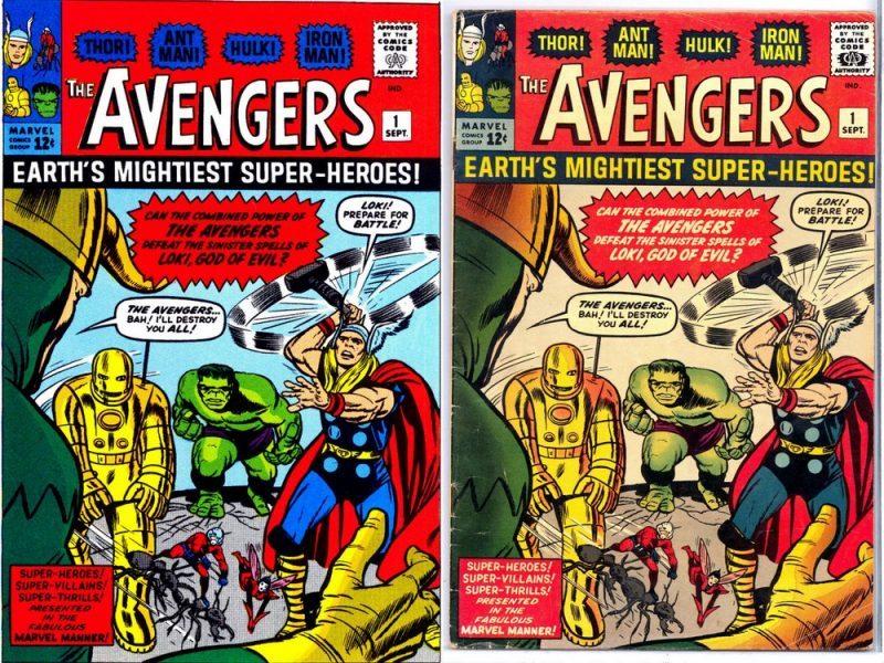 The avengers original comic value movie tv tech geeks ebay